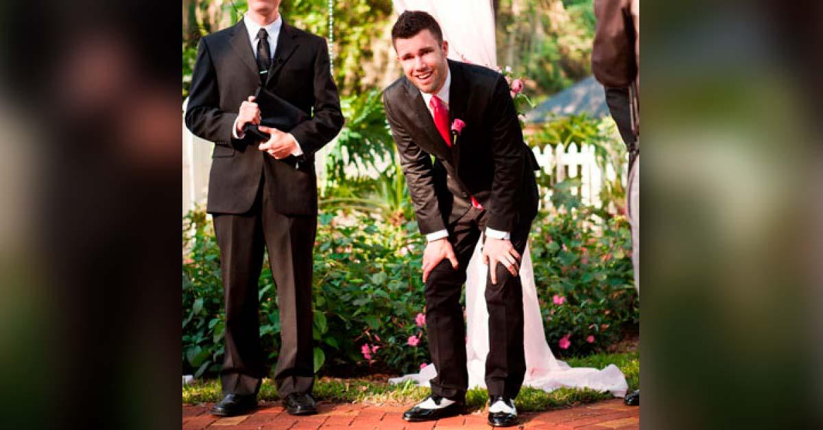 reacciones de novios en sus bodas